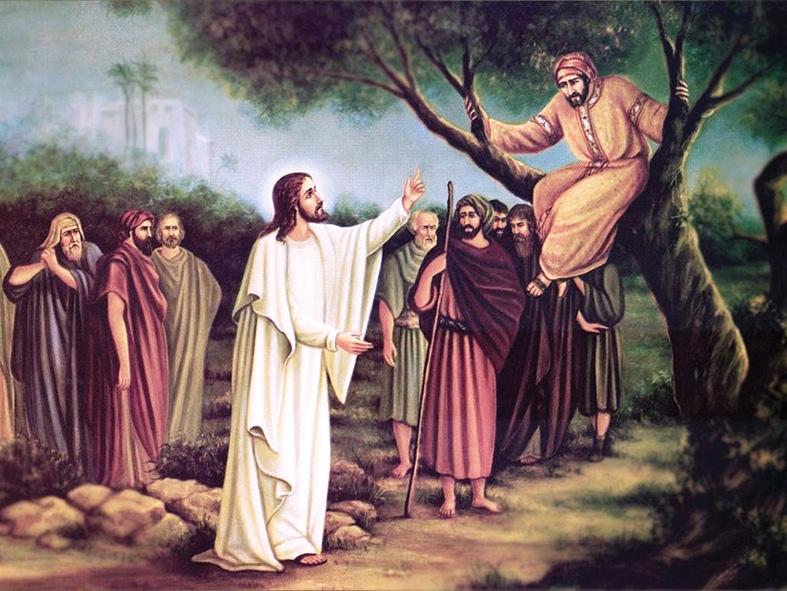Hasil gambar untuk Luk 19:1-10
